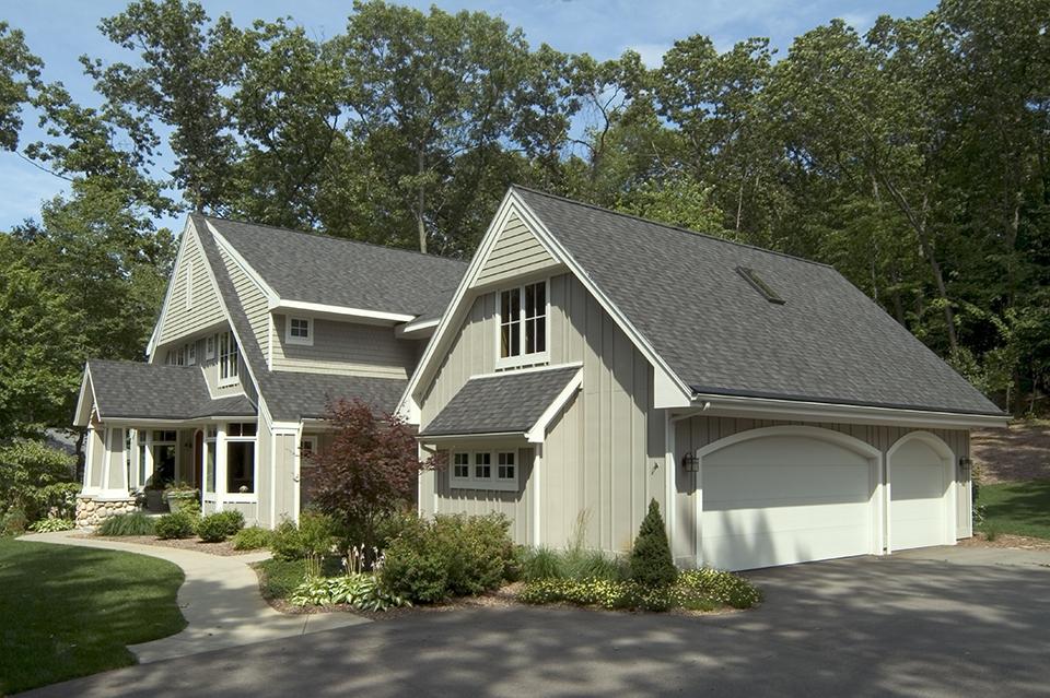 Urban contemporary homes grand rapids west mi custom quality new homes builder and home - Quality home exteriors ...